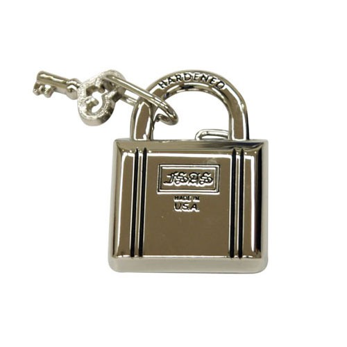 LOCK AND KEY BUCKLE